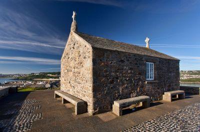 St Nicholas' Chapel on the Island
