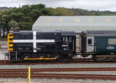 St Piran locomotive - Long Rock