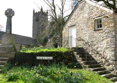 St Tudy Church Town