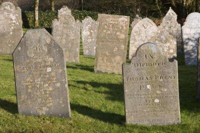 St Breward Headstones