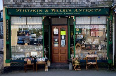 Stiltskin and Walrus - St Columb Major