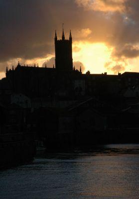 St Mary's Church Sunset - Penzance