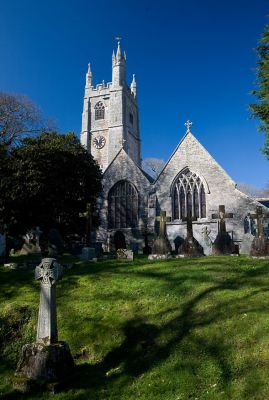 St Mawgan Church