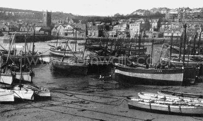 St Ives Harbour - 1930s