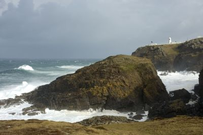 Heavy Sea and Swell at Pendeen Watch