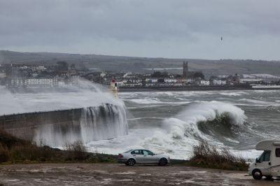 Newlyn storm