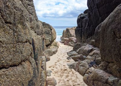 Tiny Cornish Cove