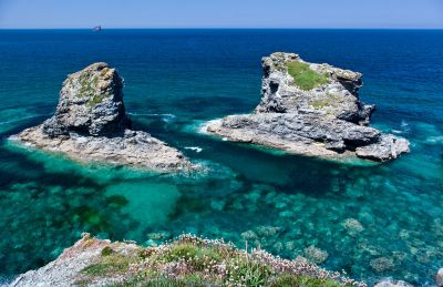 Sea Stacks - Trevellas Porth - St Agnes