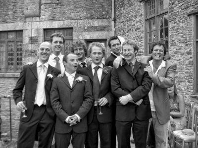 The Boys at Juan and Bea's Wedding