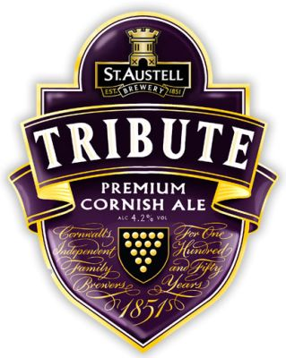 St Austell Brewery - Tribute