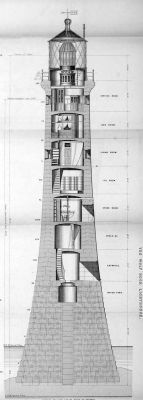 Wolf Rock lighthouse plan