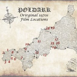 Poldark 1970s film locations