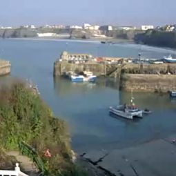 Newquay Harbour webcam