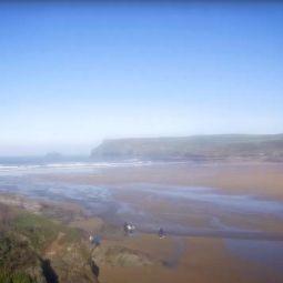 Polzeath beach webcam