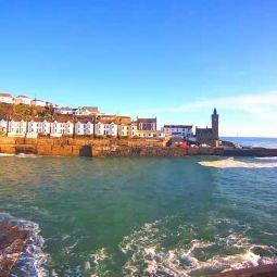 Porthleven harbour webcam