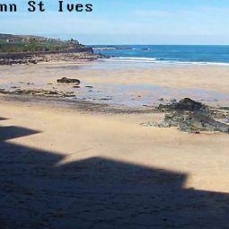 Porthmeor beach webcam