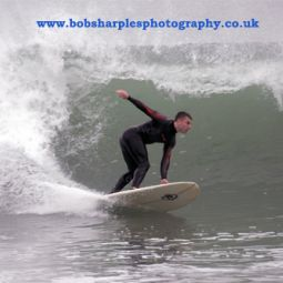 Surfing Praa Sands