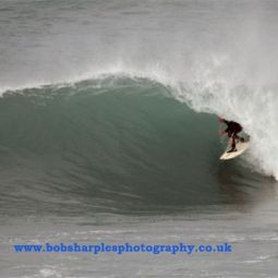 Porthleven Barrel Surfing