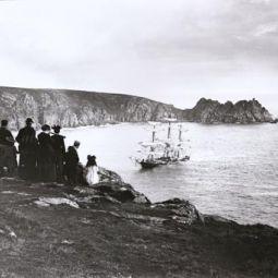 Granite State Shipwreck - Porthcurno - 1895