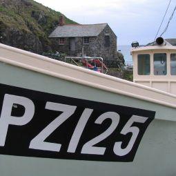 Mullion fishing boat