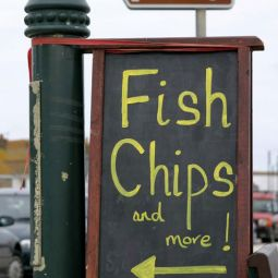 Fish, chips & more on Penzance's Promenade