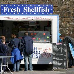 Fresh shellfish - Penzance