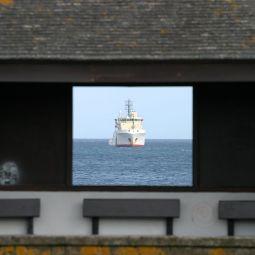 Coastguard boat - Penzance