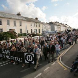 Hayle Save Our Hospitals March