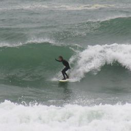 Gnarly set at Praa Sands