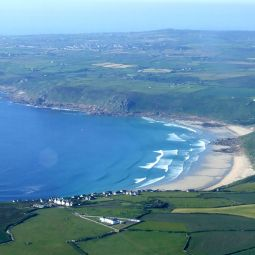 Sennen Beach - Aerial View
