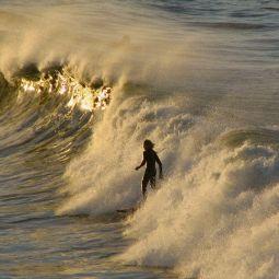 Surfer, Harlyn bay