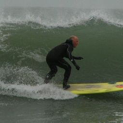 Surfer, Harlyn Bay