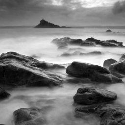 Evening Seas in Mount's Bay - Saint Michael's Mount