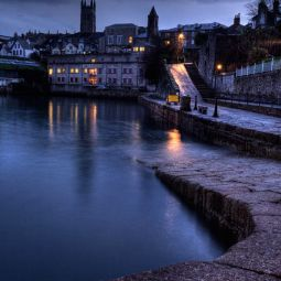 Abbey Slip and old Penzance town