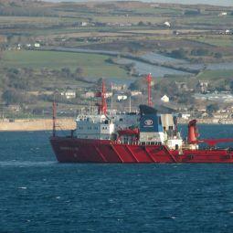 Tug in Mount's Bay