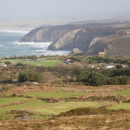 View from St Agnes Beacon