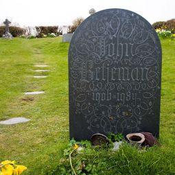 John Betjeman's Grave - Trebetherick