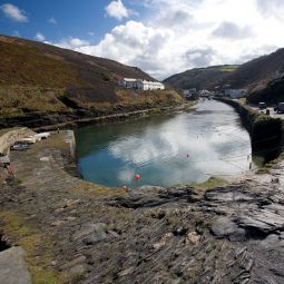 Boscastle Inner Harbour