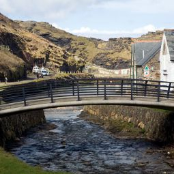 New Boscastle Lower Bridge