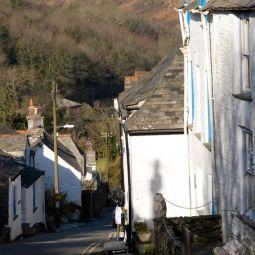 Down Fore Street - Boscastle