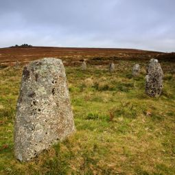 Tregeseal Stone Circle - Carn Kenidjack