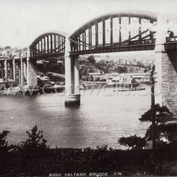 Brunel Tamar Bridge - 1900s