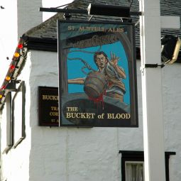 Bucket of Blood Pub in Phillack