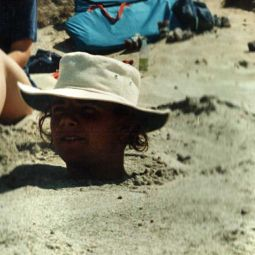 Buried in Sand!