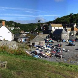 Cadgwith Cove Panorama