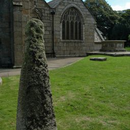Ancient cross in Camborne churchyard