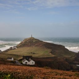 Stormy Cape Cornwall