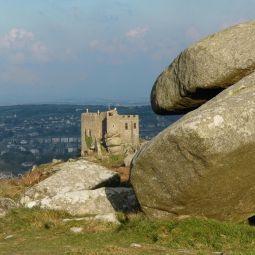 Carn Brea Castle Vista