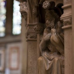 Truro Cathedral Pulpit Carving