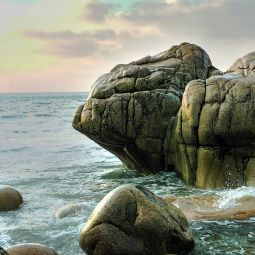 Porth Nanven Rock